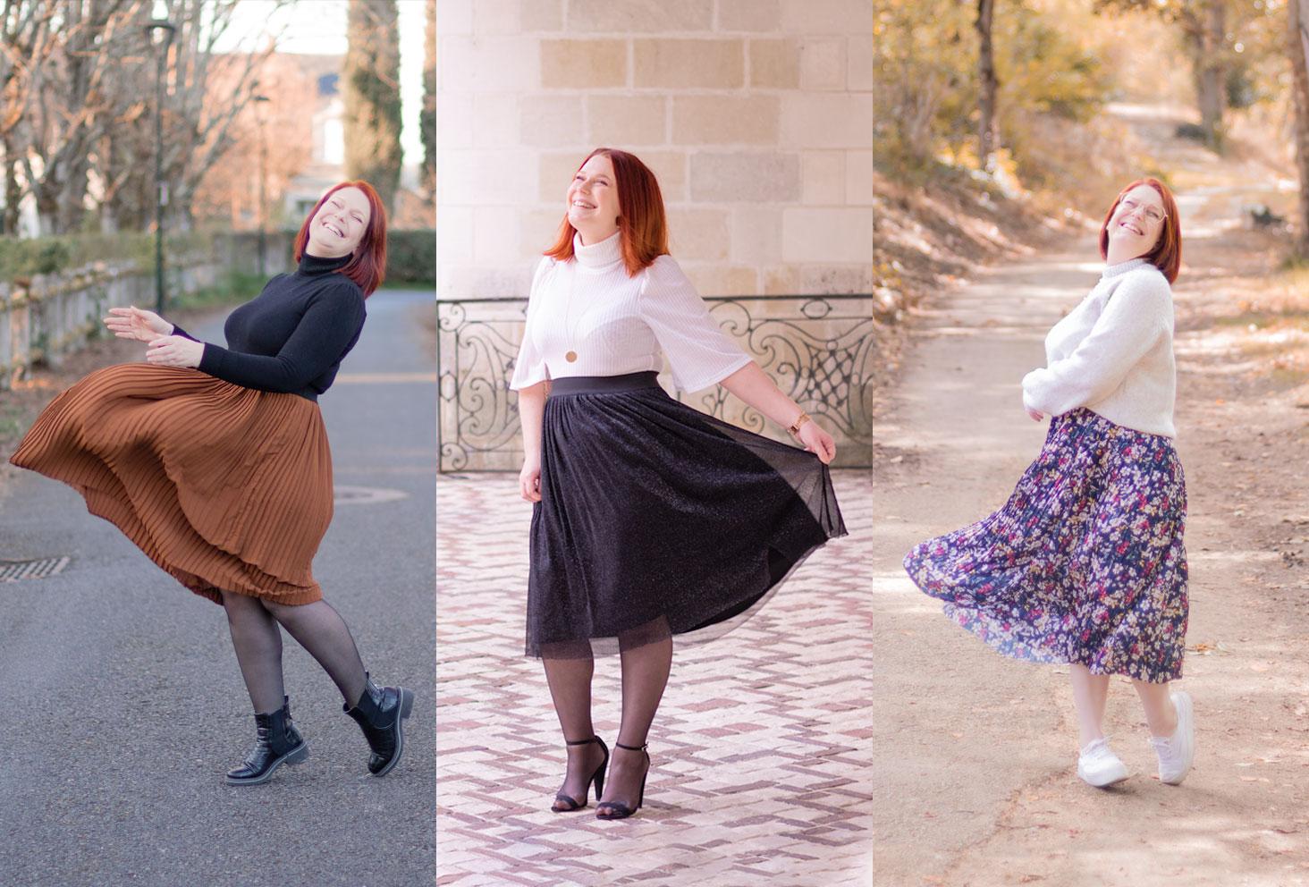 Quelles chaussures mettre avec une jupe en hiver ?